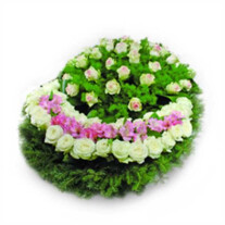 "Funeral wreath ""Memories"""